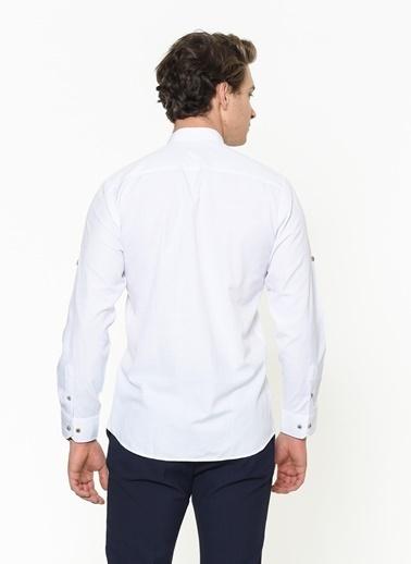 Dewberry Gömlek Beyaz